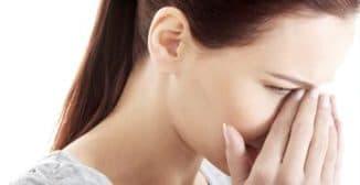 Первые симптомы гайморита