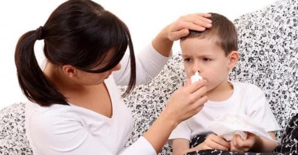 Средство от насморка для детей: лучшие варианты