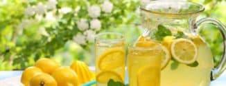 лимон и мёд от кашля