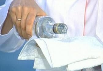 спиртовой компресс от кашля для детей