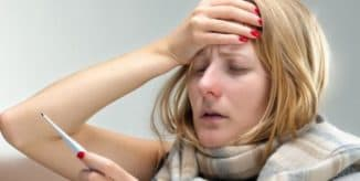 аболевание простудой