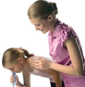промывание носа ребёнку
