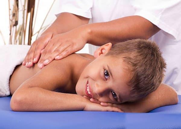 массаж от бранхита у ребёнка