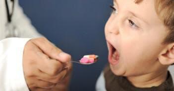 приём таблеток ангин хель ребёнком