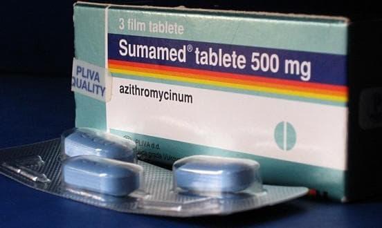 Как принимать препарат Сумамед при ангине