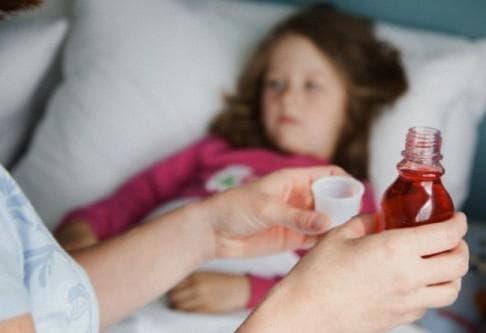 сироп для ребёнка во время простуды