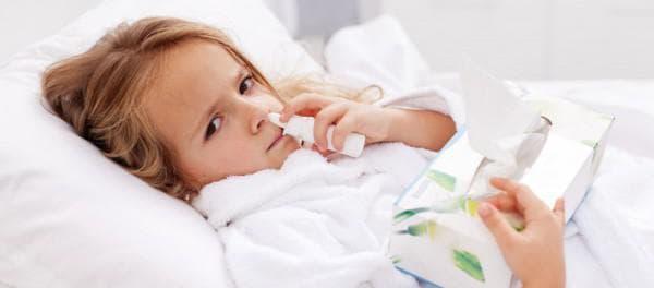 Заложенность носа у ребенка без соплей