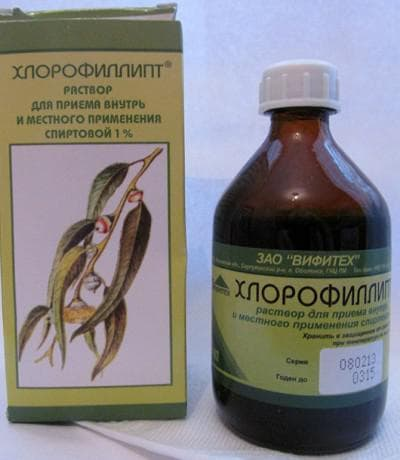 полоскание хлорофилипт