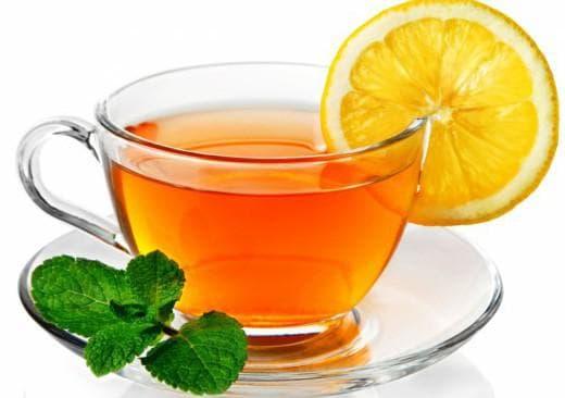 чай с лимоном при ангине у взрослого