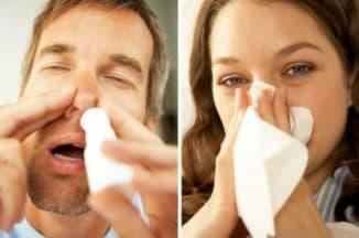 закапывание носа спреем Авамис