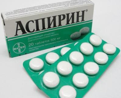 Аспирин при ангине у взрослых