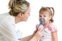 лечение насморка ингалятором у детей