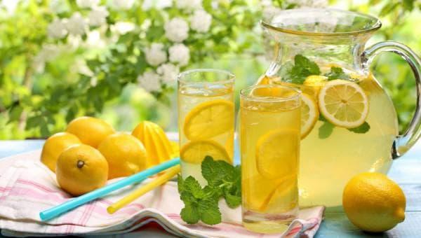 вода с лимонным соком против ангины