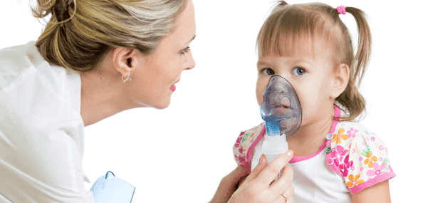 Ингаляции при лечении насморка у ребёнка