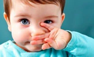 заложенность носа у малышей