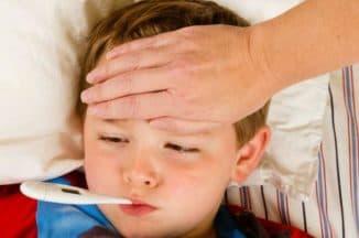 , сколько длится герпесная ангина у детей