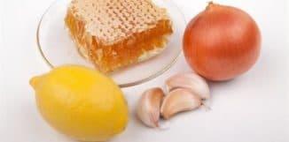 лук и мёд верный помощник при кашле