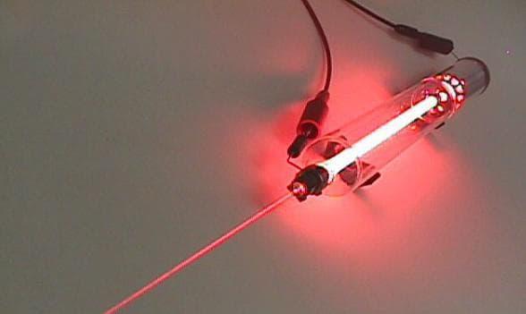 низкоэнергетическое гелий-неоновое лазерное излучение