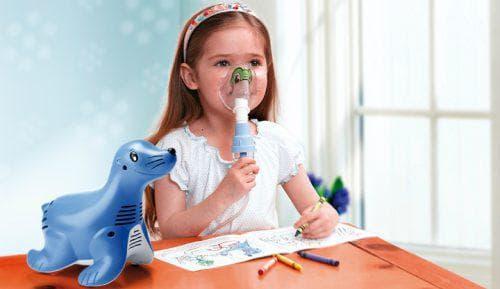 применение небулайзера ребёнком