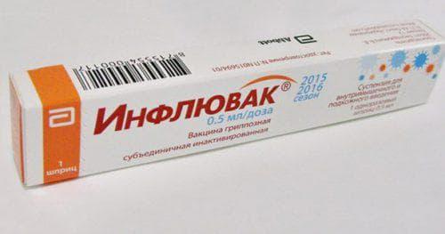прививка от гриппа инфлювак