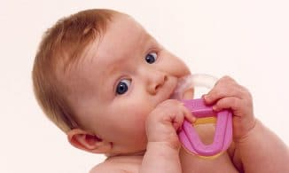 прорезание зубов у ребёнка