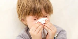 ребёнок не дышет носом