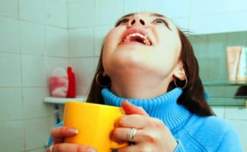 полоскание горла при трахеите