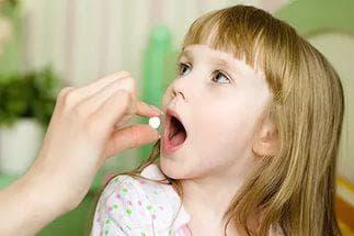 принятие лекарств детьми