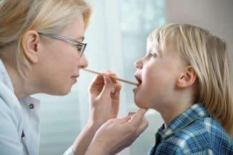 вирусный тонзиллит у детей