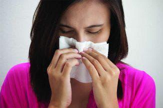 аллергический отек носа