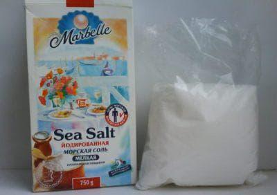 морская соль для ребёнка