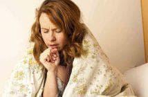 постоянно першит в горле и сухой кашель