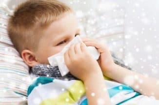 у ребенка заложен нос капли не помогают