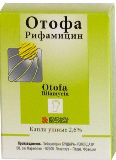 капли Отофа