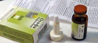 ушные капли от отита с антибиотиком