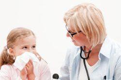 травмирование носа у ребёнка