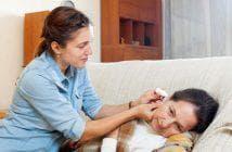 капли в уши при отите с антибиотиком