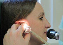 лазеротерапия ушей