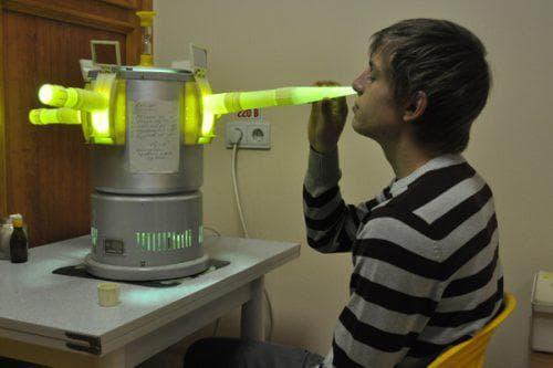 инфракрасные лучи для носа
