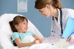 участковый врач у ребёнка