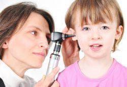 лечение ушей у ребёнка