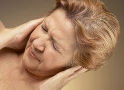 заложенность уха без боли
