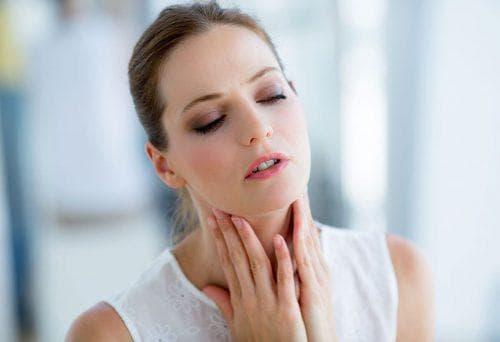 Опух язычок в горле и увеличился
