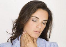 болит горло и больно глотать