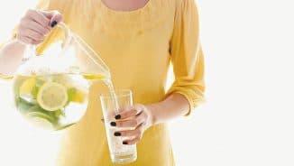 питьё воды при заболевании