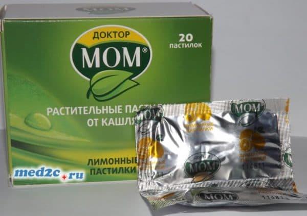 таблетки Доктор МОМ