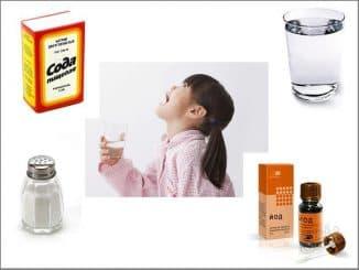ингредиенты для полоскания