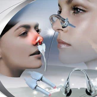 лазерное прогревание носа