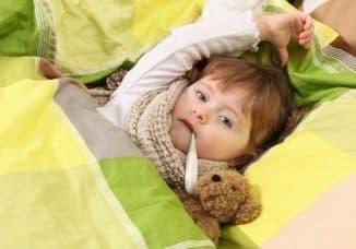 орви у детей в виде температуры