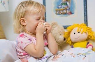 признаки орви у детей
